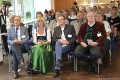 Conny Brauer (2. von li.), Manfred Newrzella (re.), Brauermeisterschaft in der Berufsschule für Brauwesen in München 2018