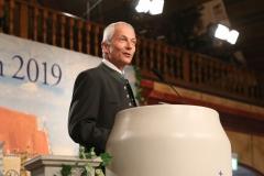 Dr. Michael Möller, Maibockanstich im Hofbräuhaus in München 2019