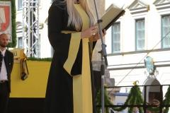 Viktoria Ostler, Münchner Brauertag am Odeonsplatz in München am 29.6.2019