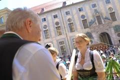 Münchner Brauertag am Odeonsplatz in München am 29.6.2019
