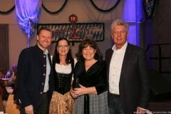 Dr. Wolfgang Stefinger, Claudia Tausend, Petra Reiter, Dieter Reiter (von li. nach re.), Truderinger Ventil in Kulturzentrum Trudering in München-Trudering 2019