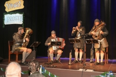 Die 4 Hinterberger Musikanten, Truderinger Ventil in Kulturzentrum Trudering in München-Trudering 2019