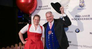 Christian Schottenhamel und Ehefrau Johanna Schottenhamel als Gastgeber beim Filserball auf dem Nockherberg